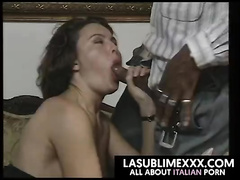 Italian wife gets bbc doggy fuck w blowjob
