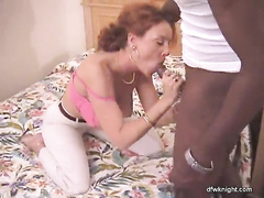 Amateur Redhead milf gets fucked by bbc