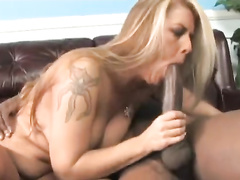 Son Films 2 BBC Bullies MMF Fuck His Mom In Threesome