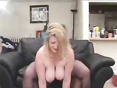BBW Cuckold Mature Wife gets  BBC IR DP in MMF Threesome