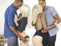 White blondes vs BBC's kissing compilation