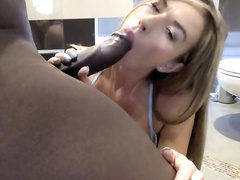 Gorgeous posh british blonde wife fucked by bbc