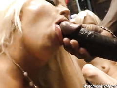 Blonde milf Alura Jenson bbc interracial compilation
