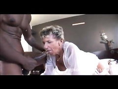 Even very old grannies prefer black cocks