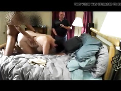 Hubby Cleans mature wife after watching BBC breeds her